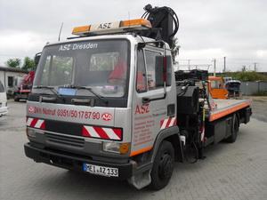 Unfallbergung verunfallter und liegengebliebener Fahrzeuge